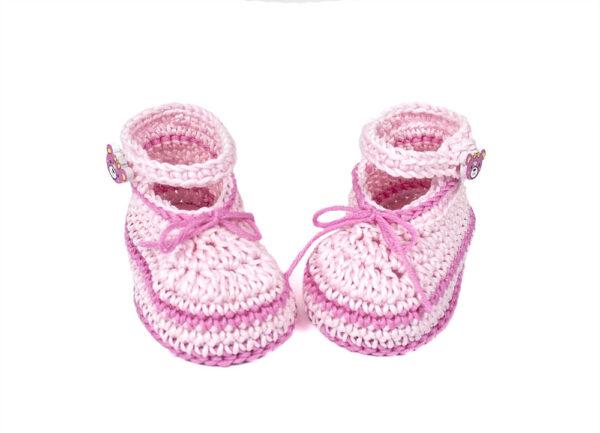Babyschuhe rosa pink