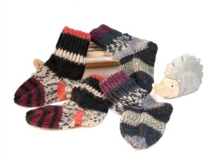 Babysocken Sparset curry-schwarz